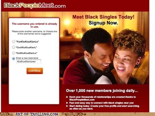 blackpeoplemeet kkk racism - 5880551936