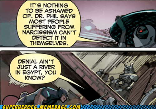 deadpool,narcissism,Straight off the Page,wise,wolverine,words