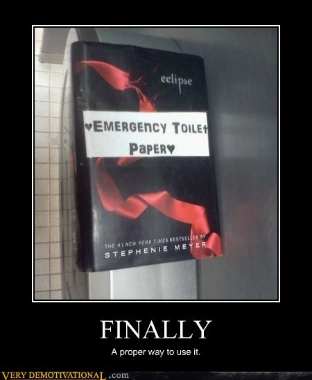finally,hilarious,toilet paper,twilight,wtf