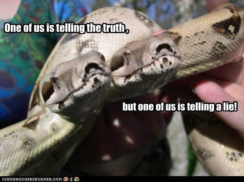ask,lie,snake,snakes,truth