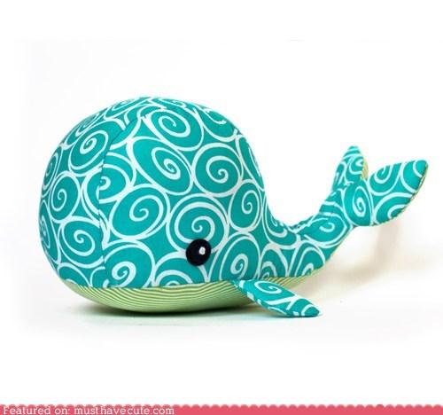 DIY fabric Plush sewing whale - 5881970432