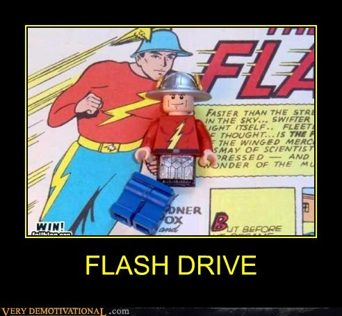 comics drive flash lego Pure Awesome wtf - 5882159104