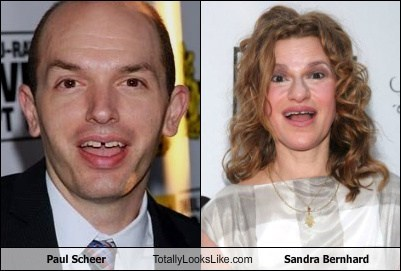 Paul Scheer Totally Looks Like Sandra Bernhard