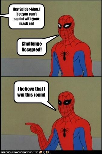 mask Spider-Man squint Super-Lols wtf - 5882698240