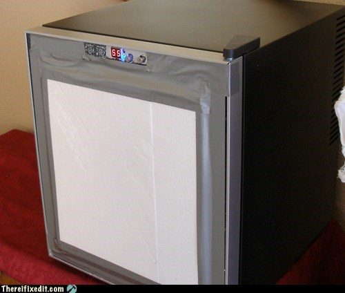 glass styrofoam wine fridge - 5882739200