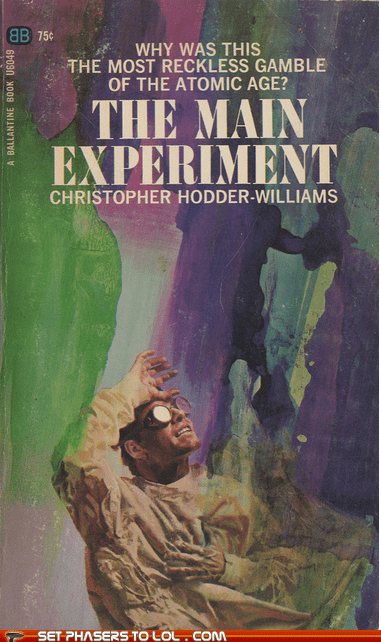 book covers books cover art dramatic experiment gamble science fiction wtf - 5882820352