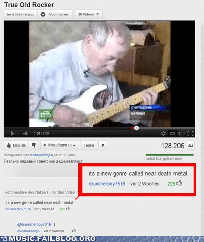 comment death metal metal near death metal old youtube - 5883013888