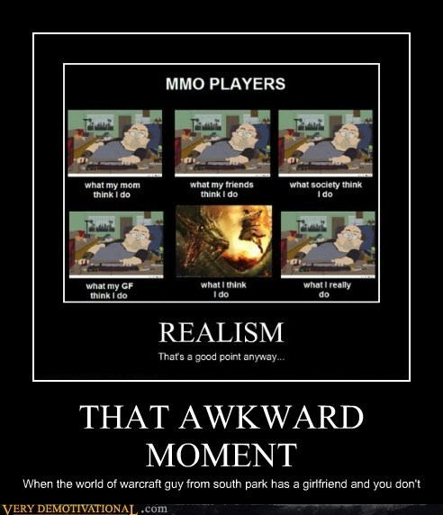 Awkward hilarious MMO moment nerds video games - 5883051264