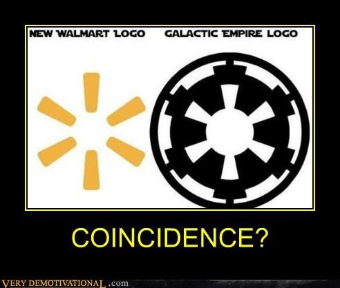 galactic empire hilarious logo wal mart wtf - 5883205120