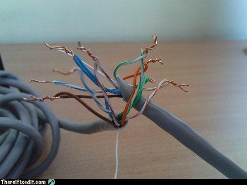 internet connection wiring