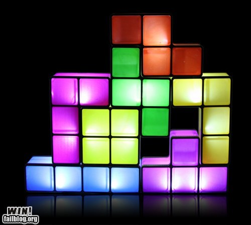 design,lamp,nerdgasm,tetris,video games