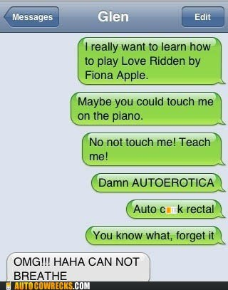 auto correct autoerotica fiona apple Music piano