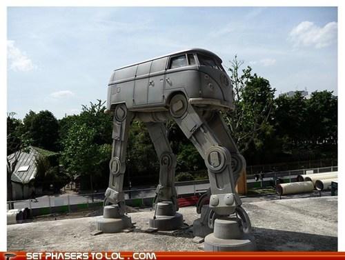 at-at walker bus Hoth star wars volkswagen - 5883339520