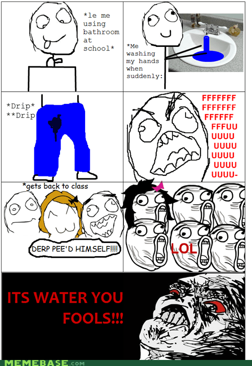 fu guy,pettimes,Rage Comics,water