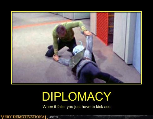 diplomacy hilarious Star Trek wtf - 5883440896