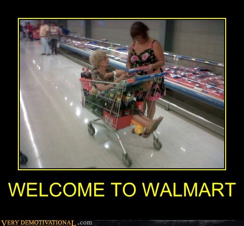 hilarious old lady wal mart welcome wtf - 5883469056