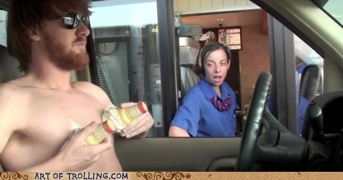 coneing,drive thru,ice cream,IRL