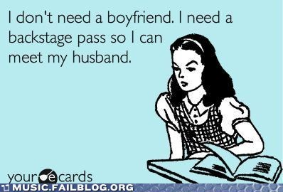 backstage pass concert crush ecard husband live - 5883537408