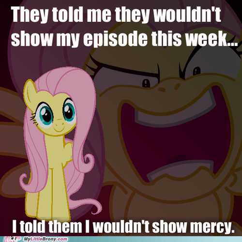 fluttershy meme new episode scream youre-going-to-love-me