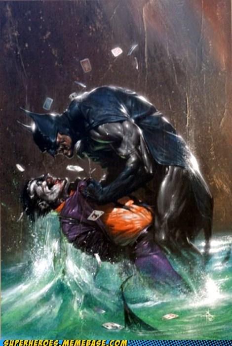 52 card pickup Awesome Art batman joker - 5883808256
