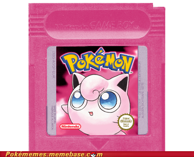 art,gameboy,jigglypuff,pink version