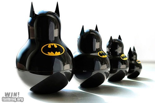 batman,comic books,matroyshka,nerdgasm,only in russia,super heroes