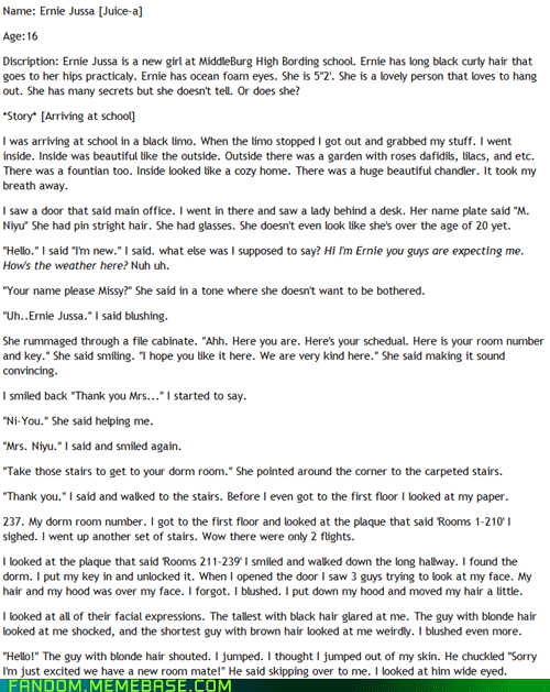 bad fanfic friday fanfic It Came From the Interwebz vampire - 5884067072