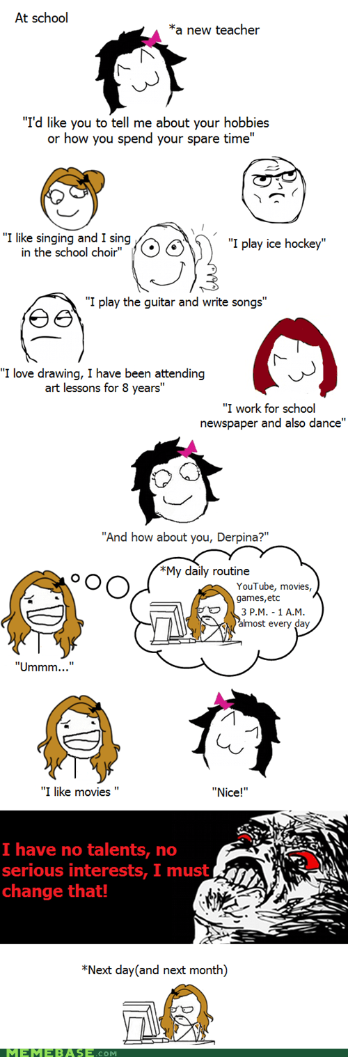 hobbies,Rage Comics,raisin rage,truancy story