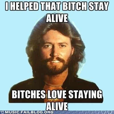 beegees,staying alive