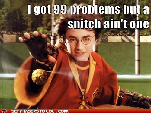 99 problems Daniel Radcliffe harry Harry Potter quidditch snitch - 5885143808