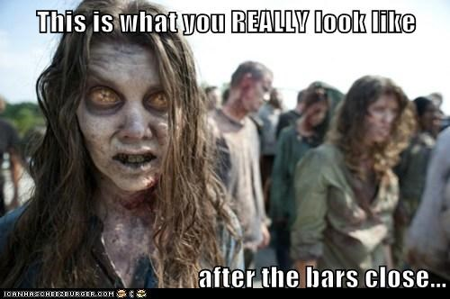 bars close look like really ugly The Walking Dead zombie