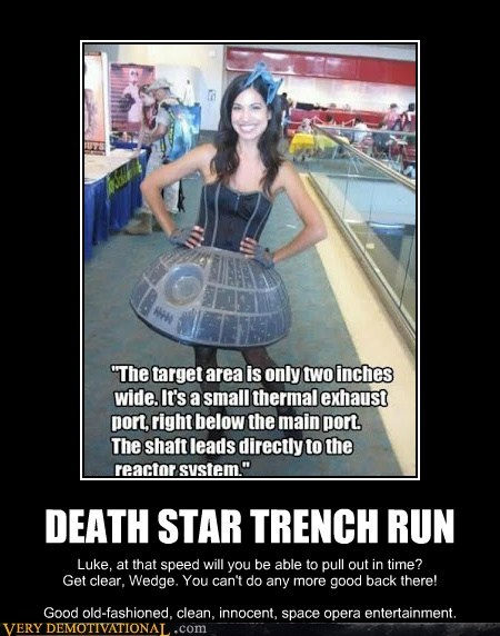 Death Star hilarious innuendo Sexy Ladies sexy times