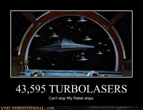 empire hilarious rebel star wars turbolasers