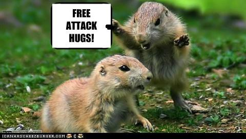 FREE ATTACK HUGS! -- -- gg g g g