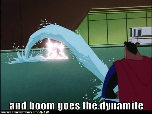 cleveland dynamite Super-Lols superman wtf - 5886311680