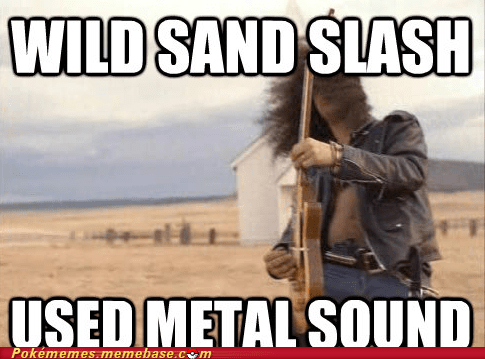 guns and roses meme Memes metal sound sandslash slash - 5886536704