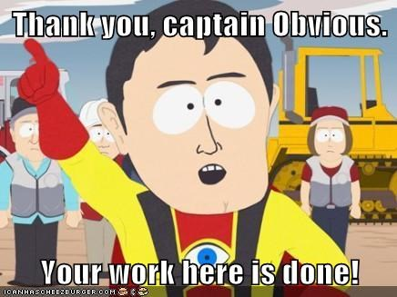 Image result for thank you captain obvious gif