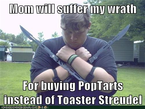 breakfast,pop tarts,toaster streudel,weird kid