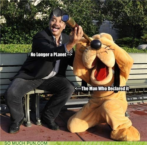 character costume disney dogs double meaning Hall of Fame literalism mascot Neil deGrasse Tyson planet pluto - 5886738944