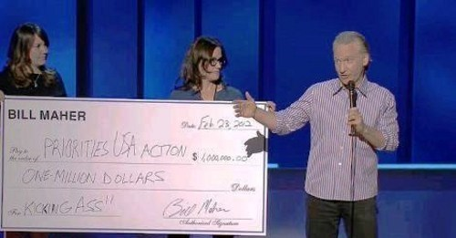 bill maher Political Contribution potus Priorities USA Action - 5887263232