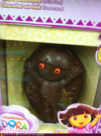best of week chocolate dora the explorer possesed wtf - 5887413248