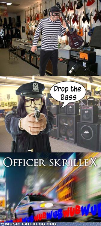 bass drop drop the bass dubstep parody skrillex - 5887444480