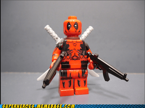 amazing Awesome Art deadpool lego - 5887585792