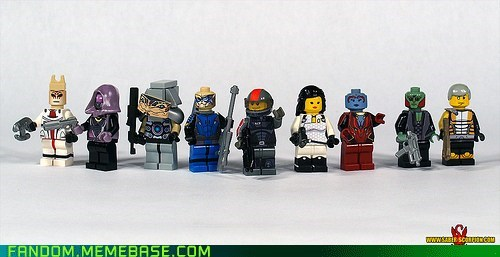 It Came From the Interwebz lego mass effect video games