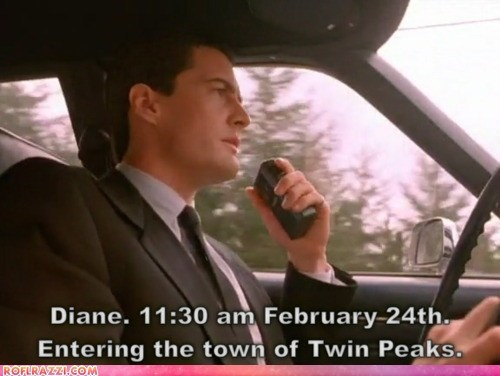 actor awesome funny Hall of Fame kyle maclachlan TV Twin Peaks - 5887681280