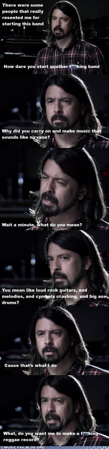 Dave Grohl foo fighters grohl interview nirvana - 5887777536