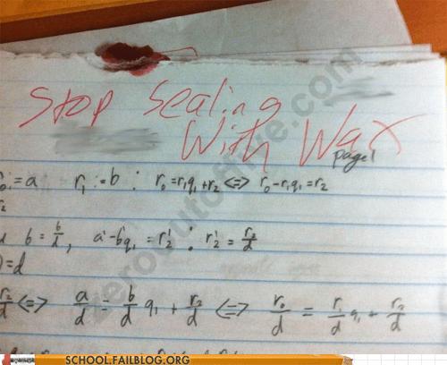 homework sealing with wax seals - 5887816960