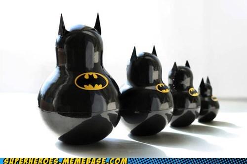 Awesome Art batman cute matryoshka dolls - 5887930624