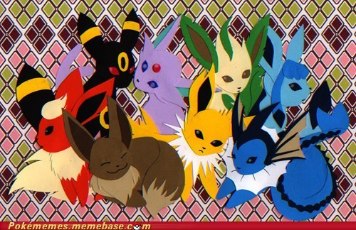 amazing art cute eeveelutions fandom - 5888099840