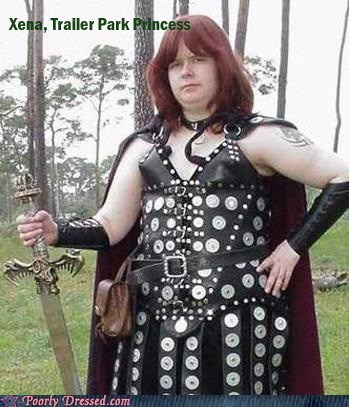 dude looks like a lady princess trailer park Xena - 5888136192